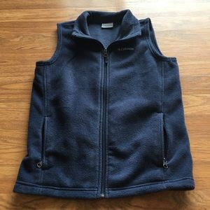 Columbia zip up vest
